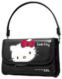 Bigben Hello Kitty Bescherm- en Opberghoes Zwart 3DS + 3DS XL +DSi + DsiXL + DS Lite