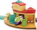 Chuggington Die-cast Lanceer &amp; Go Remise Speelset met Koko