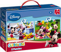 Mickey Mouse Clubhouse 2 in 1 Puzzel