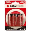 AgfaPhoto 4x AA Ni-Mh Mignon 2700 mAh batterijen