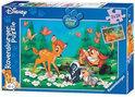 Disney Mijn vriend Bambi - Kinderpuzzel - 2x 24 Stukjes