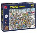 Jan van Haasteren Op Glad IJs - Puzzel - 1000 stukjes