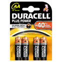 Duracell Plus Power AA Alkaline Batterijen 4x Pak
