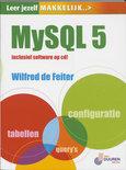 Leer Jezelf Makkelijk Mysql 5 + Cd-Rom