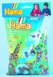 Hama Strijkkralen Glitter '3000 Stuks'