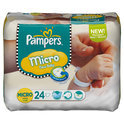 Pampers New Baby - Luiers Maat 0 - Carry Pack Micro 24st