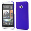 HTC One M7 Back Case Hoesje Hard Snap On Blauw