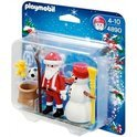 Playmobil Kerstman met Sneeuwman - 4890