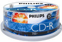 Philips CR7D5NB25 700 MB/80 min. 52x CD-R