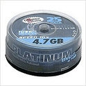 Platinum DVD+R 4.7 GB 25er CakeBox