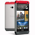 HTC Double Dip Hard Shell voor de HTC One - Grijs
