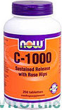 Now Vit C Sr Rose Hip - 1000 mg
