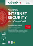 Kaspersky, Internet Security 2015 Multi Device RB (3 Devices) (Dutch / French)