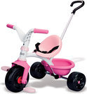 Smoby Driewieler Be Move - roze/wit