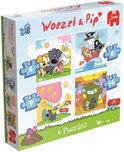 Jumbo Woezel & Pip 4In1 - Puzzel - 4,6,9,16 stukjes