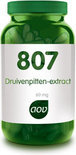 AOV 807 Druivenpitten-extract 60 mg Capsules 60 st