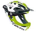CASCO VIPER MX fietshelm ATB bmx kin-beschermer wit-groen-zwart