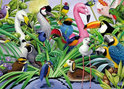 Magic Birds Puzzel