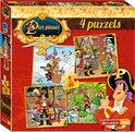 Piet Piraat 4 in 1 puzzel