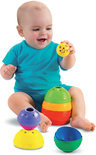 Fisher-Price Stapel- en Rolbekertjes