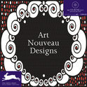 Art Nouveau Designs + CD-ROM