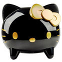 Dockingstation iPhone / iPod Hello Kitty - zwart-goud