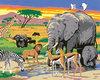 Schilderen op Nummer - Wildlife