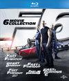 Fast & Furious 1 t/m 6 (Blu-ray)