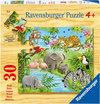 Ravensburger Puzzel - Jonge Dieren in de Jungle