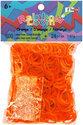 Rainbow Loom Elastiekjes - Rubber Bands Oranje - 600 stuks