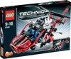 LEGO Technic Reddingshelikopter - 8068