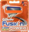 Gillette Fusion Power - 8 stuks - Scheermesjes