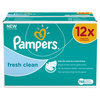 Pampers Fresh Clean - Billendoekjes Navulpak 12x64 st.