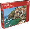 Jumbo Seaview at Cinque Terre - Puzzel - 1000 stukjes