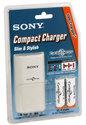 Sony BCG34HTD2K Compact Charger + 2X AA CycleEnergy Batterijen
