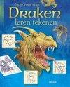 Stap voor stap draken leren tekenen