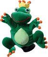 Beleduc Kikker Koning Speelhandschoen - Handpop