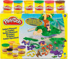 Play-Doh Safari Speelset met 6 potjes - Klei