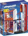 Playmobil Brandweerkazerne met sirene - 5361
