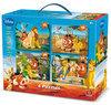 4 in 1 Puzzel Koffer Disney Lion King
