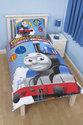 Thomas de trein kinderdekbedovertrek - eenpersoons - 140x200 cm - Blauw
