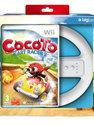 Cocoto, Kart Racer + Wheel (Bundel)  Wii