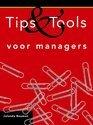 Cover voor - Tips en tools voor managers / druk Herziene druk