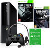Microsoft Xbox 360 Super Slim Console 500GB + 1 Wireless Controller + Call of Duty: Ghosts + Call of Duty: Black ops II + 1 Maand Xbox Live Gold