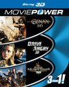 Moviepower Box 2: Actie (3D Blu-ray)
