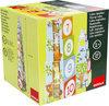 Goula Houten Stapelblokken - Bosdieren - 10 Kubussen