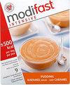 Modifast Karamel - 9 stuks - Pudding