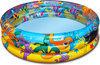 Bestway Zwembad 3 Rings Ocean Life - 102x25cm