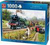 Watching The Trains - Puzzel - 1000 Stukjes