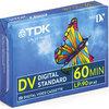 TDK 5 Pack Mini DV tapes 60